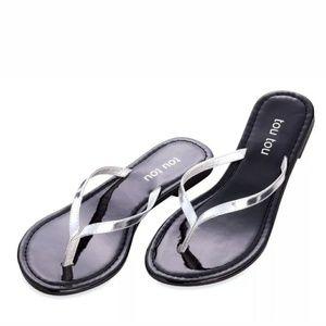 You tou Silver Sandals